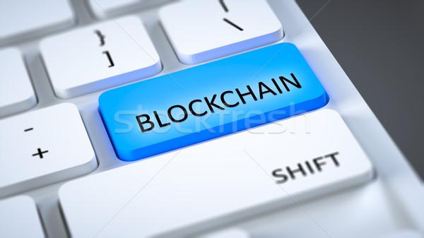 computer keyboard blockchain Stock photo © magann