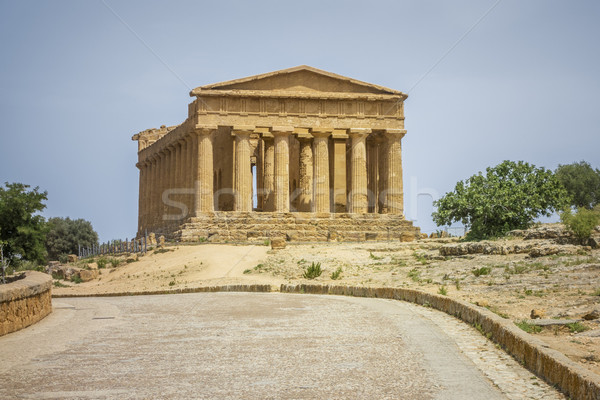 greek building in Sicily Stock photo © magann