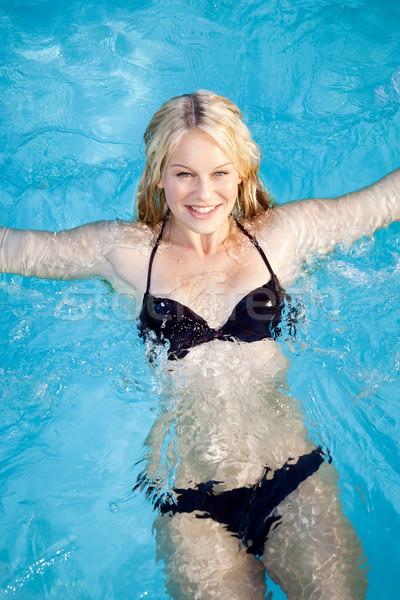 woman swimming Stock photo © magann