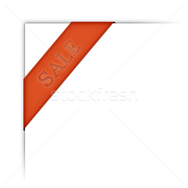 web ribbon Stock photo © magann