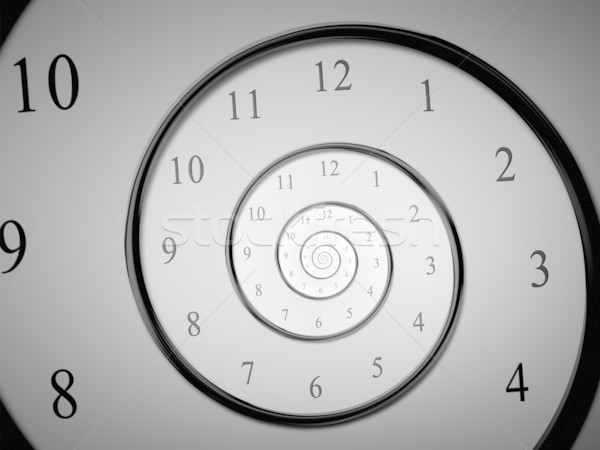 time spiral Stock photo © magann