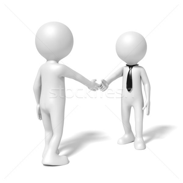 Foto stock: Aperto · de · mãos · imagem · pessoas · de · negócios · reunião · homens · preto