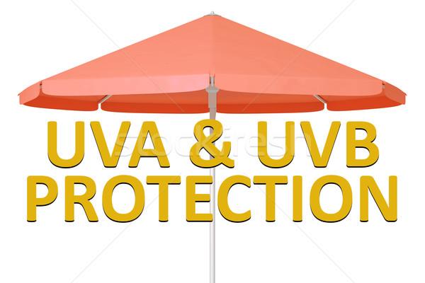 Guarda-chuva imagem proteção sol fundo Foto stock © magann