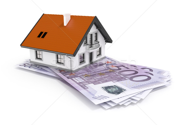 house and money Stock photo © magann