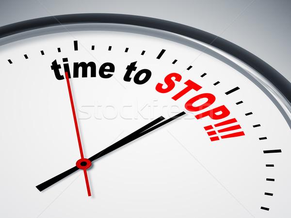 Stock fotó: Idő · stop · kép · szép · óra · üzlet
