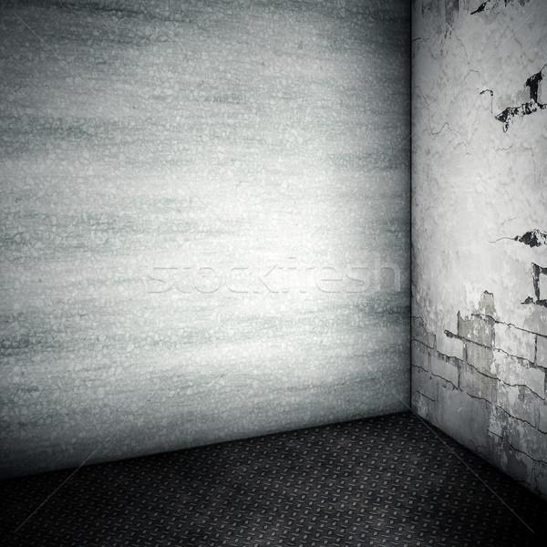 Habitación imagen agradable oscuro pared luz Foto stock © magann