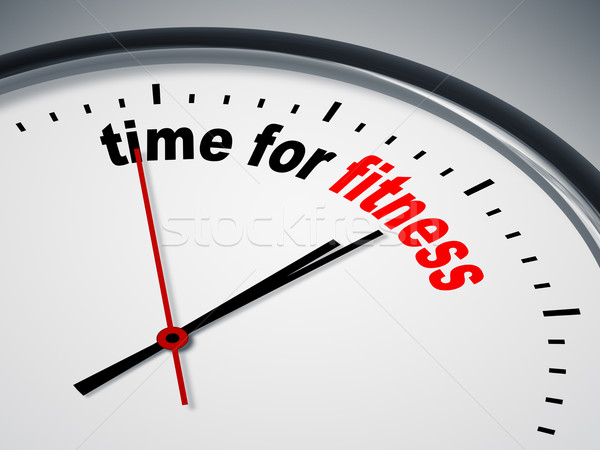 time for fitness Stock photo © magann