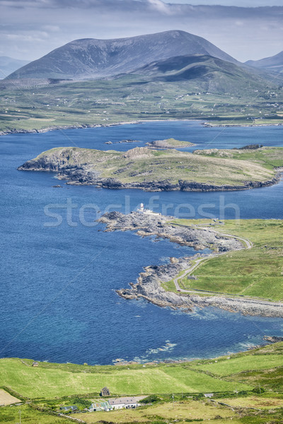 Stok fotoğraf: Ada · görüntü · güzel · İrlanda · deniz · yaz