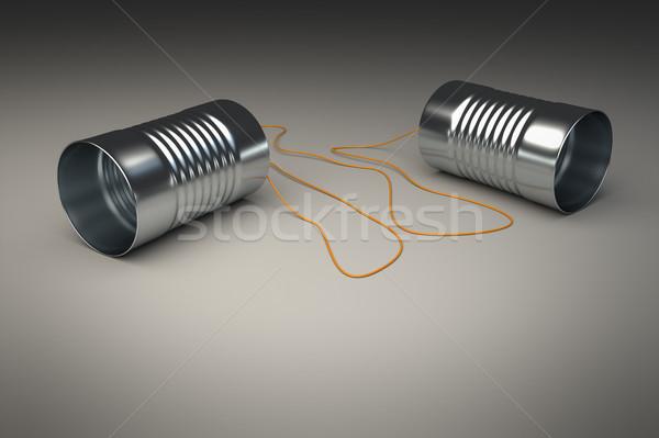 cans phone Stock photo © magann