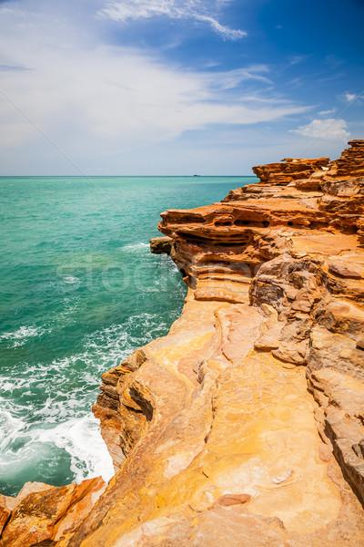 Australia obraz nice krajobraz plaży wody Zdjęcia stock © magann