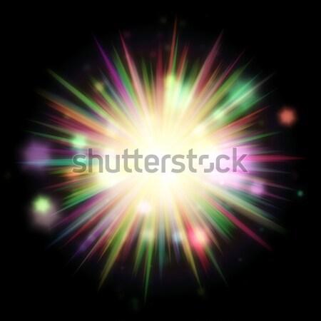 sunburst Stock photo © magann