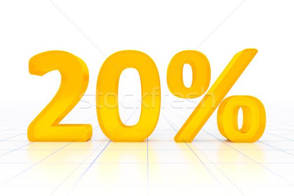 20 percent Stock photo © magann
