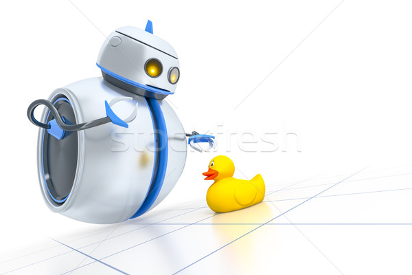 sweet little robot Stock photo © magann