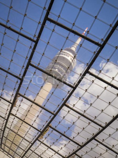 テレビ 塔 ミュンヘン ドイツ 画像 空 ストックフォト © magann