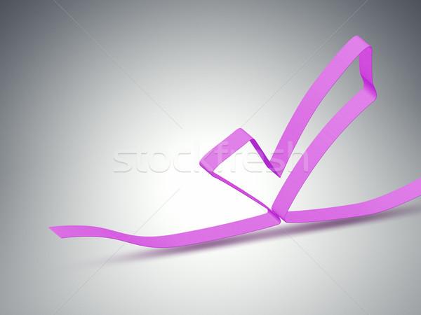 ribbon checker Stock photo © magann
