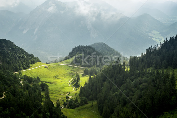 View from Herzogstand Bavaria Germany Stock photo © magann