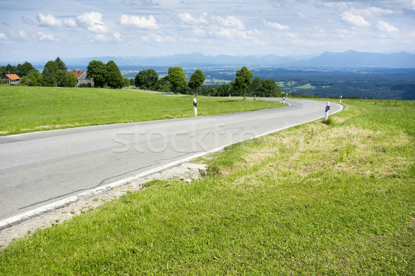 winding road Stock photo © magann