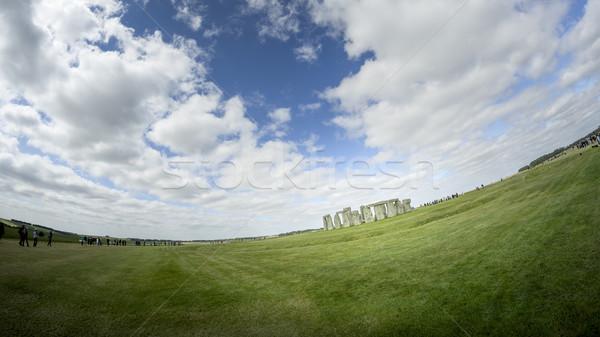 Stonehenge image Angleterre horloge monde ruines Photo stock © magann