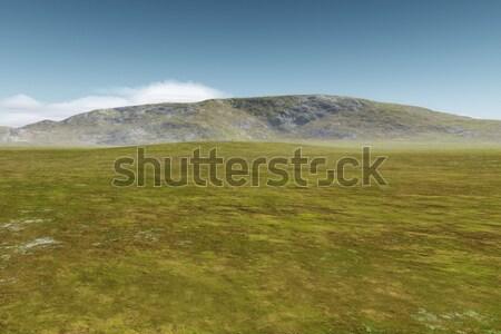 landscape without vegetation Stock photo © magann