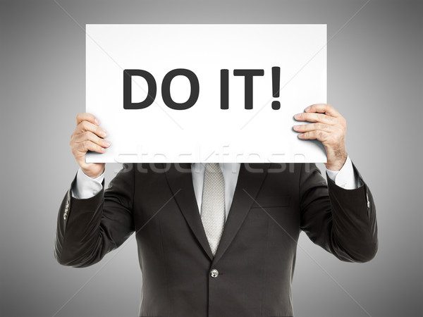 business man message Stock photo © magann