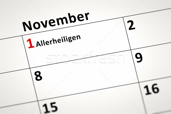 calendar detail Stock photo © magann