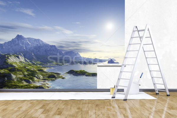 photo mural nature scenery Stock photo © magann
