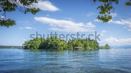 Rose Island of King Ludwig II Stock photo © magann