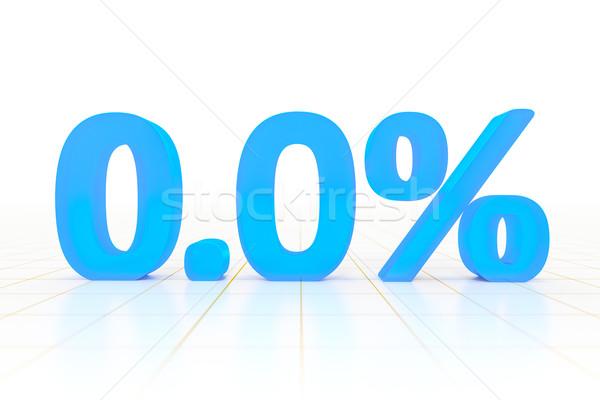 zero percent Stock photo © magann
