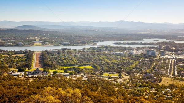 Canberra imagem cidade Austrália céu Foto stock © magann