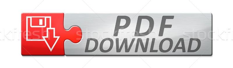 Bandeira elegante teia texto pdf baixar Foto stock © magann