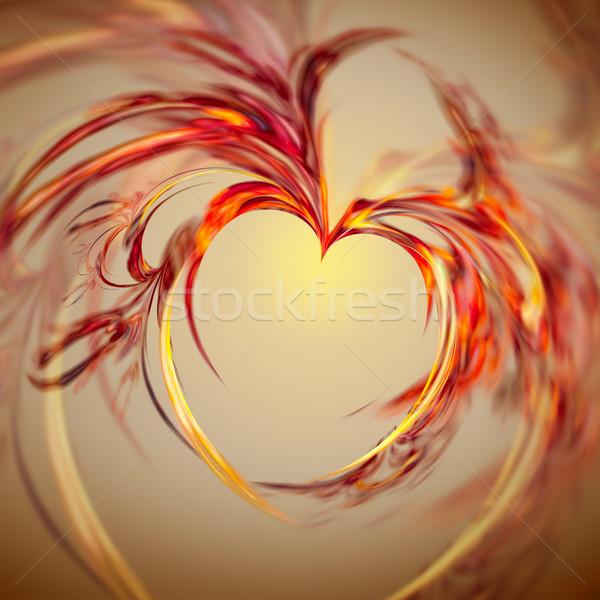 Foto d'archivio: Abstract · cuore · immagine · nice · design · arte