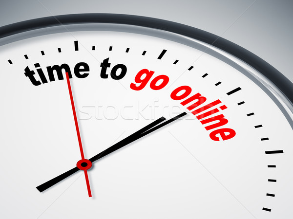 time to go online Stock photo © magann