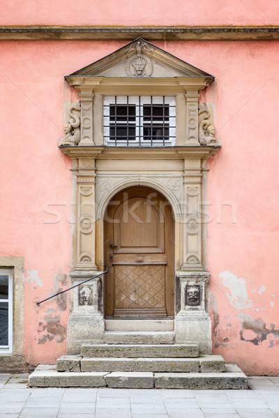 Old Door Rothenburg ob der Tauber Stock photo © magann
