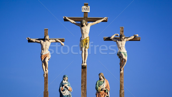 crucifixion scene Stock photo © magann