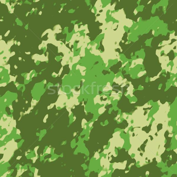 camouflage seamless pattern Stock photo © magann