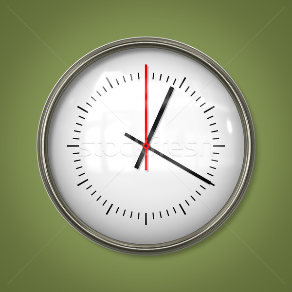 typical simple clock Stock photo © magann