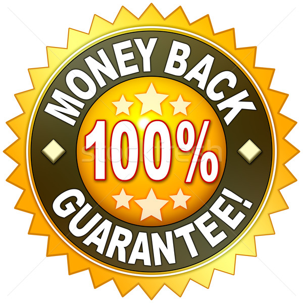 money back guarantee Stock photo © magann