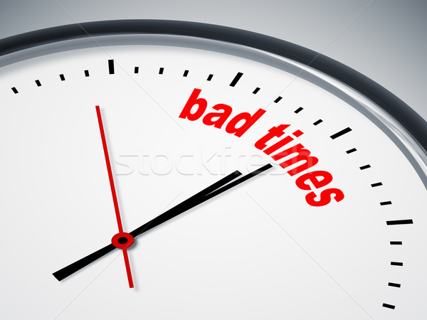 bad times Stock photo © magann