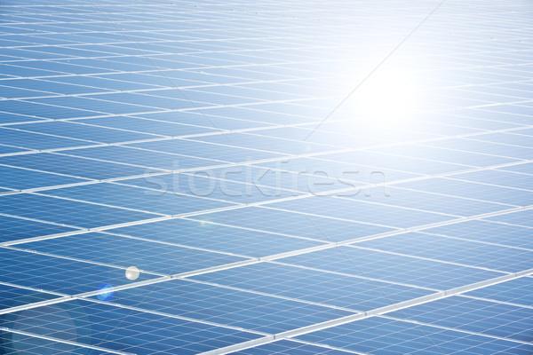 solar panel Stock photo © magann