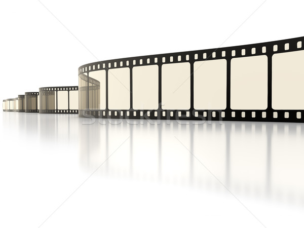 vintage film strip Stock photo © magann