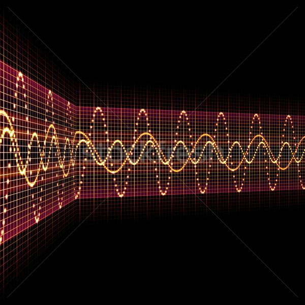 sound wave Stock photo © magann