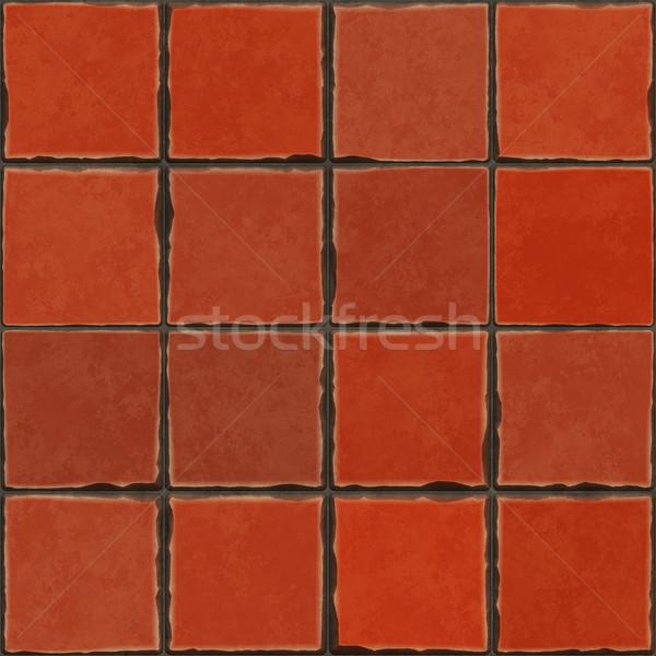 terracotta tiles Stock photo © magann