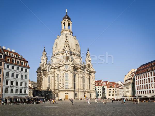 Frauenkirche Dresden Stock photo © magann