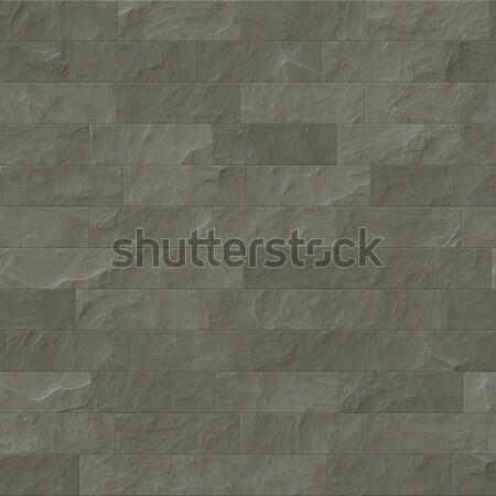 Steen textuur hoog kwaliteit naadloos bruin Stockfoto © magann