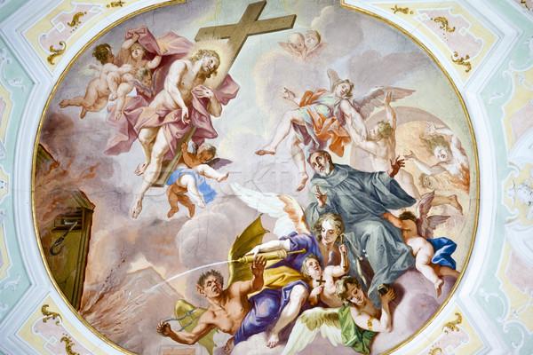 fresco ochsenhausen Stock photo © magann