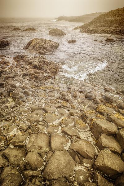 Gigante immagine mare viaggio rock pietra Foto d'archivio © magann
