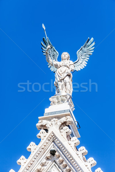 Angel at the Cathedral in Siena Stock photo © magann
