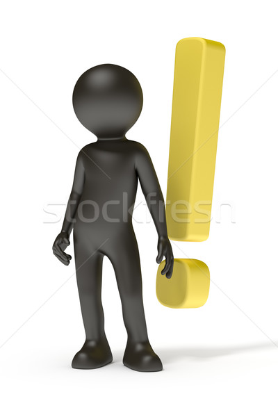 exclamation mark Stock photo © magann