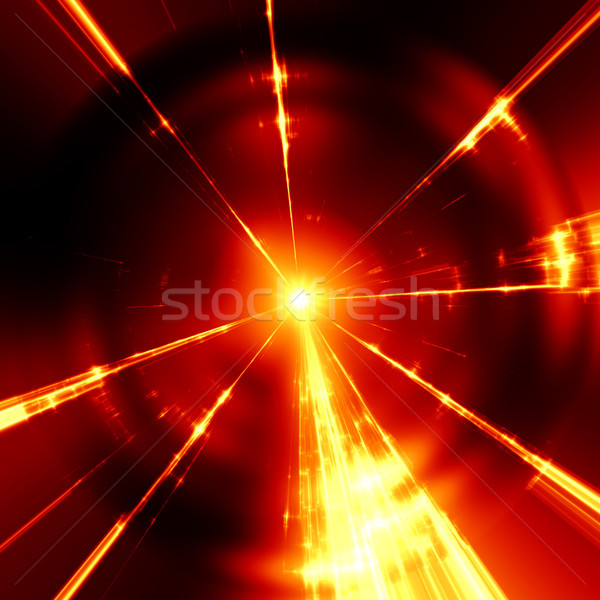 stylish red light streaks texture Stock photo © magann