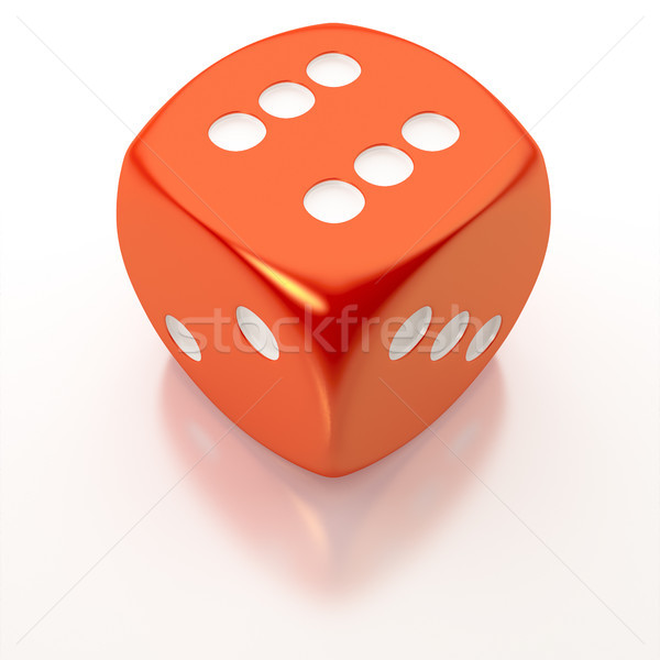 red dice Stock photo © magann